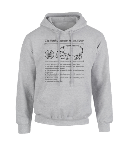 House Hippo Facts hoodie