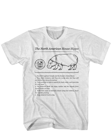 House Hippo Facts tee