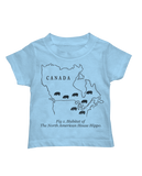 Habitat of the House Hippo toddler tee