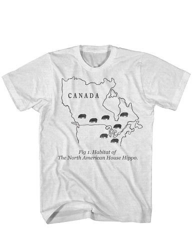 Habitat of the House Hippo tee