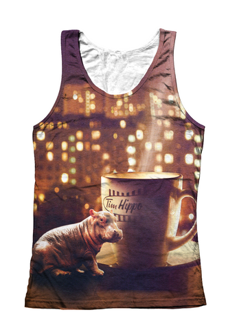 Big City Tiny Hippo tank top