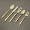 Gold Rush 24K Flatware | 12-pc set per utensil Flatware CGS Tableshop - ROVE AND SWIG