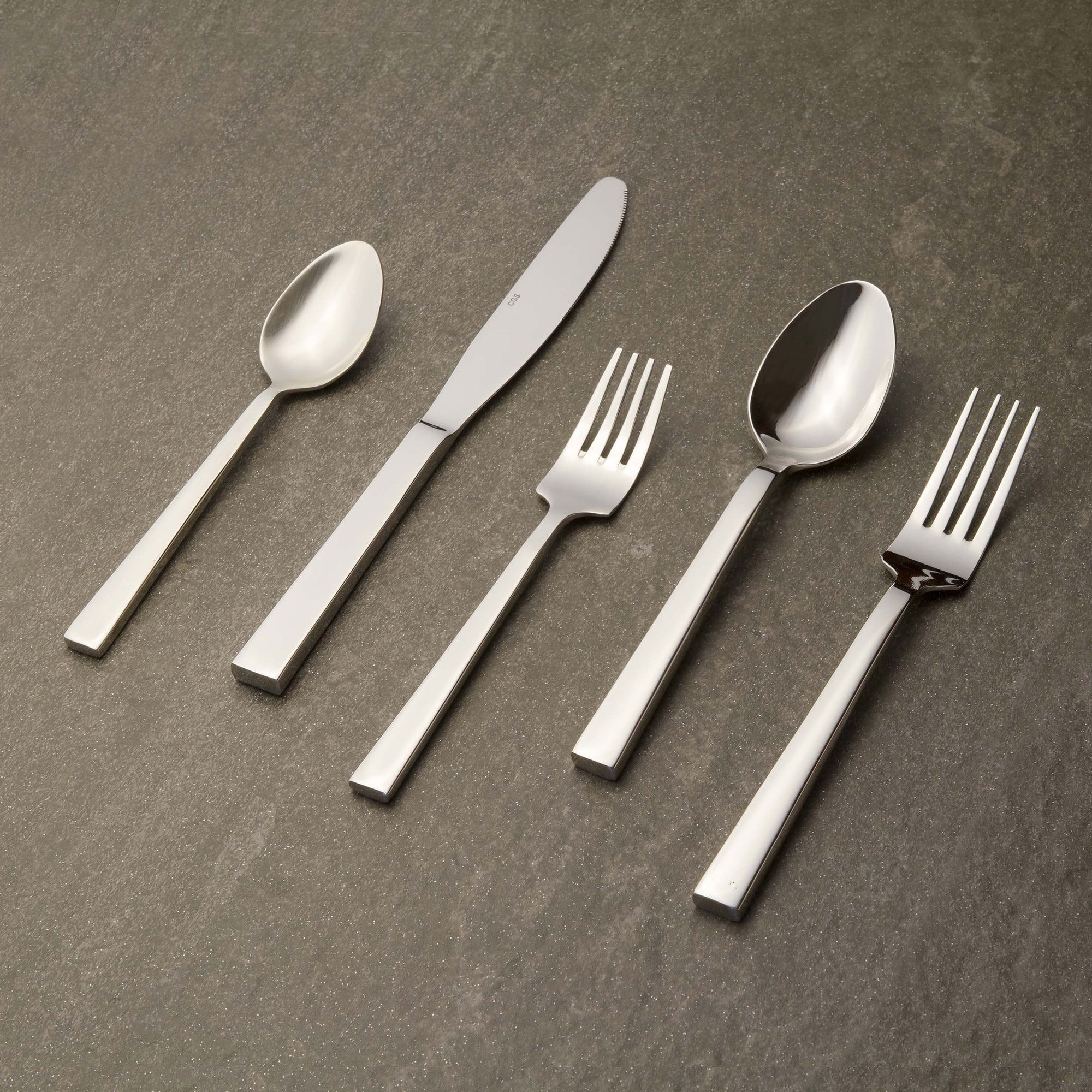 SoMa Flatware | 12-pc set per utensil Flatware CGS Tableshop - ROVE AND SWIG