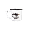 Adventure Awaits Enamel Mug, 16-Ounce Enamelware Enamel Co - ROVE AND SWIG