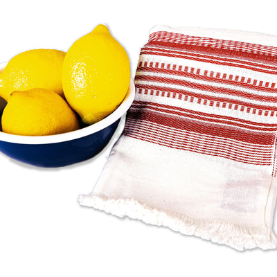 Fair Trade Stripes Dish Towel Linens Sobremesa by Greenheart - ROVE AND SWIG