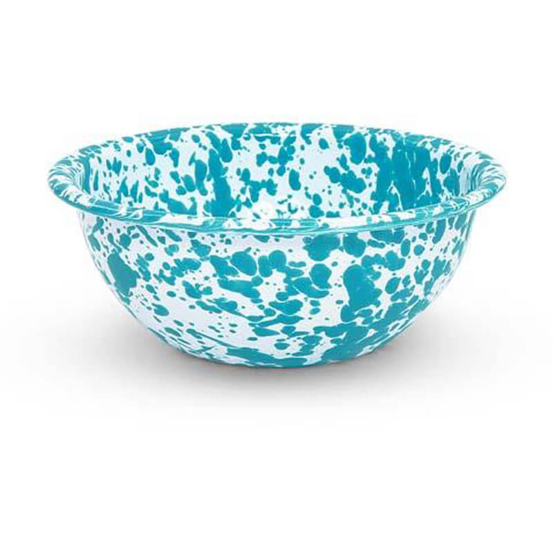 Enamel Cereal Bowl, Splatterware Collection
