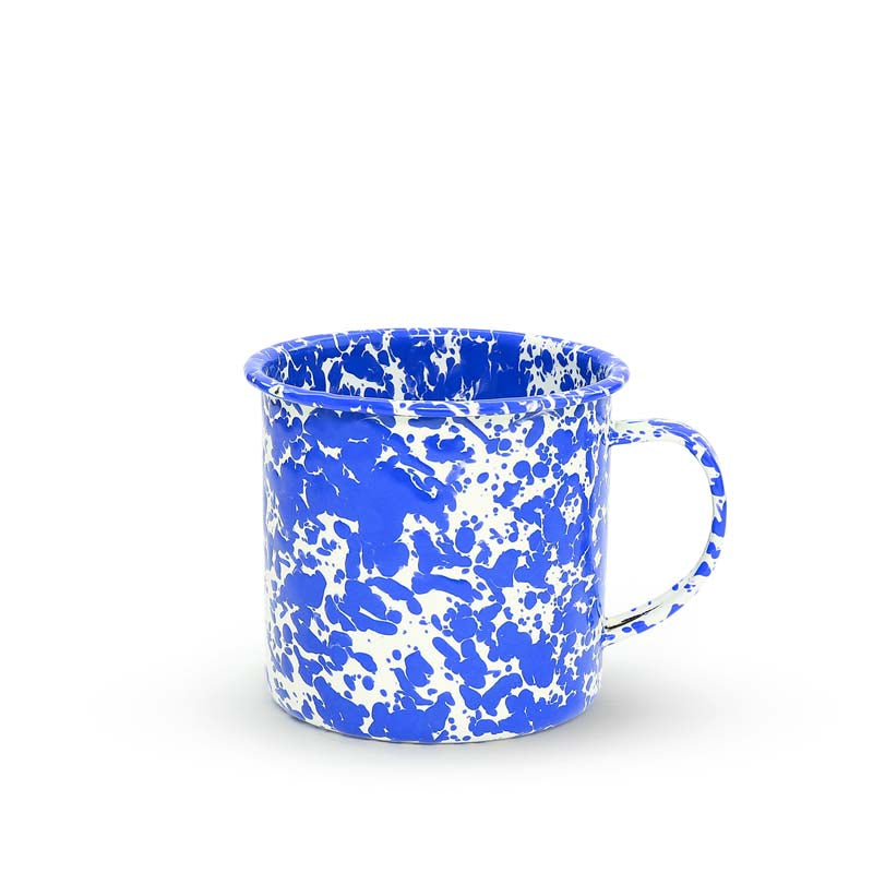 Enamel Mug, 24-Ounce, Splatterware Collection