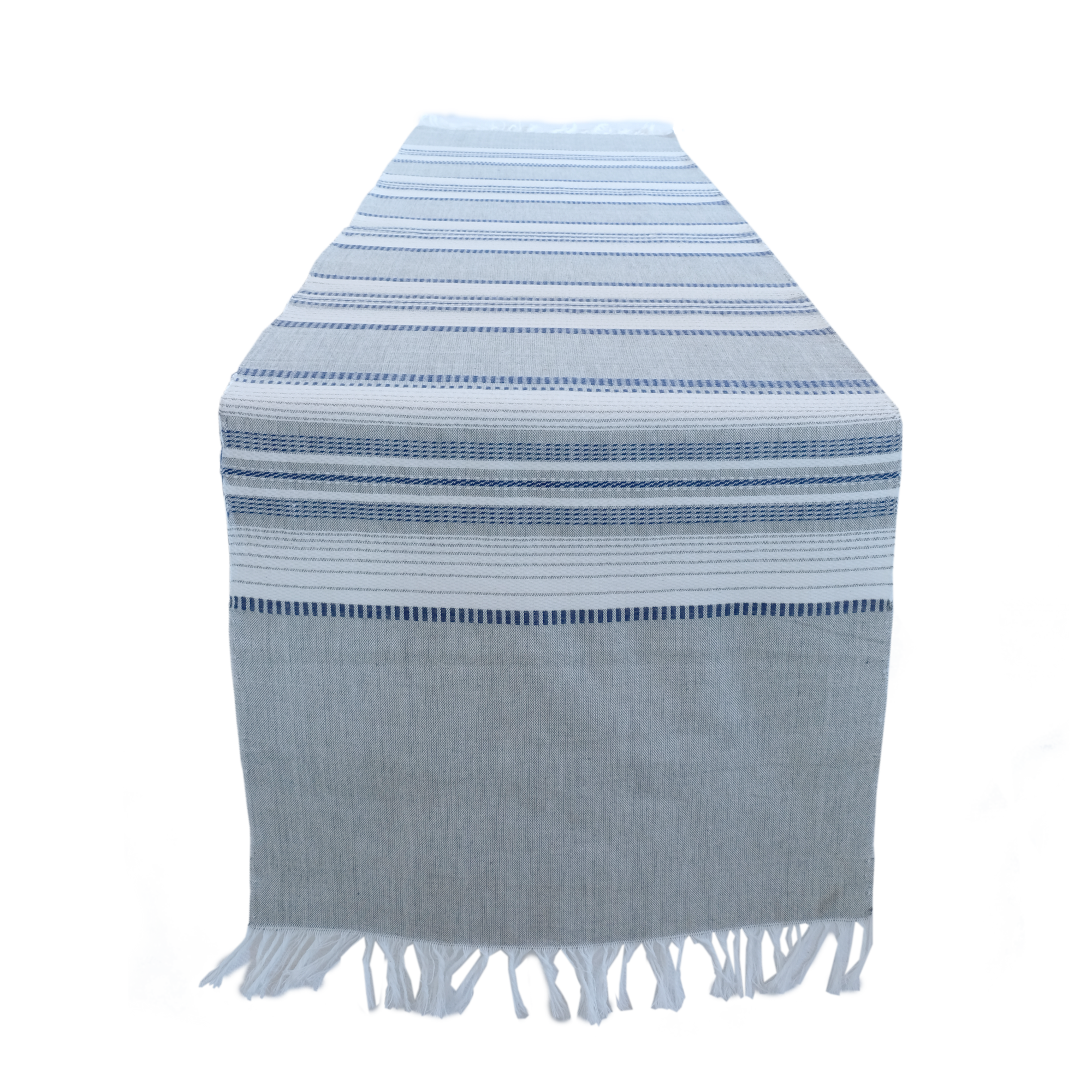 El Tun Stripes Table Runner Linens Sobremesa by Greenheart - ROVE AND SWIG