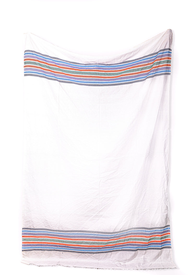 Multicolor Stripes Tablecloth