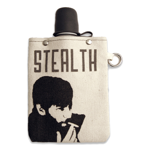 Stealth Flask with Stealth Cap, 8-Ounce Flasks and Canteens Tote & Able - ROVE AND SWIG
