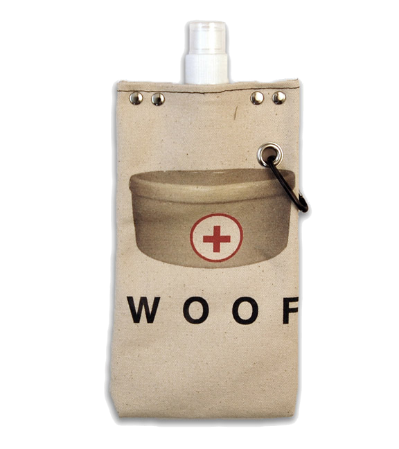 Woof Flexible Flask, 16-Ounce