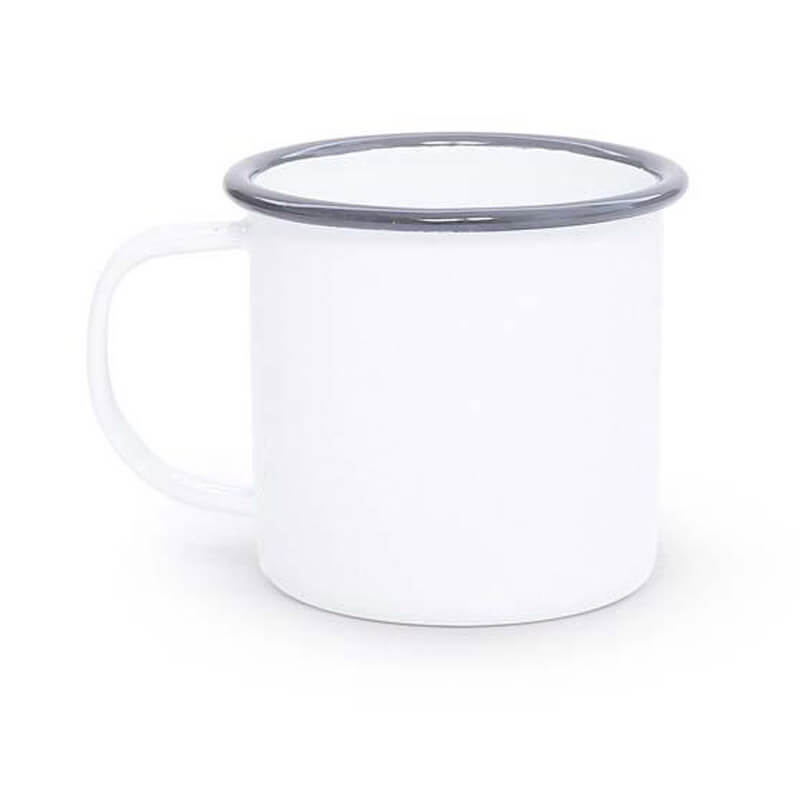 Enamel Mug, 12-Ounce, Vintage Collection
