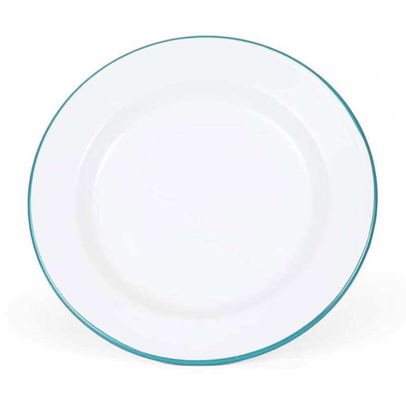 Enamelware Dinner Plate, 10-Inch, Vintage Collection