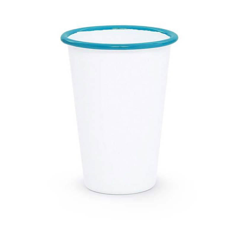 Enamel Tumbler, 14-Ounce, Vintage Collection