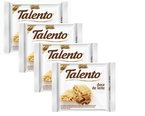 4 PACK - GAROTO TALENTO Chocolates