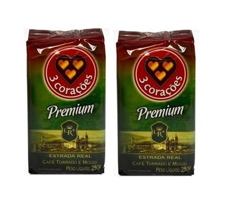 2 PACK - 3 CORACOES Coffee