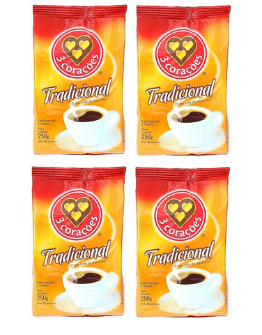 4 PACK - 3 CORACOES - Coffee