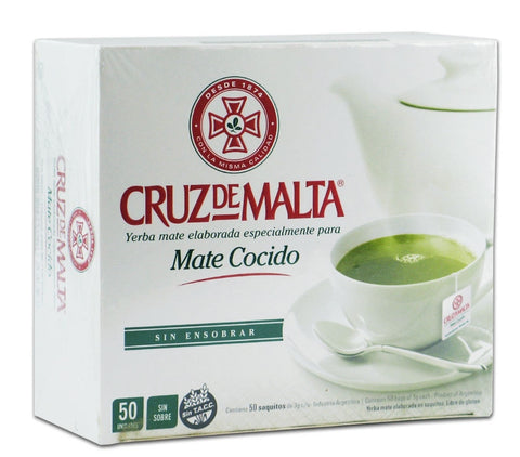 CRUZ de MALTA - Yerba Mate Tea