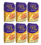 6 Pack - 9 DE ORO - Cookies