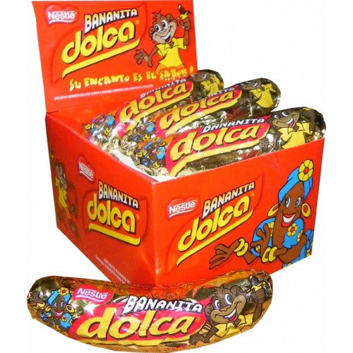 DOLCA - Banana & Chocolate Display Box
