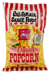 CALIFORNIA SNACK FOODS - Popcorn & Cotton Candy