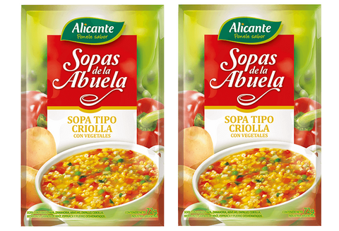 2 Pack of ALICANTE - Soups