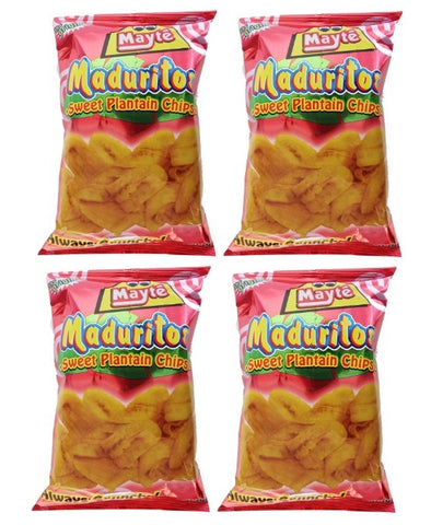 4 PACK - MAYTE Chips & Snacks