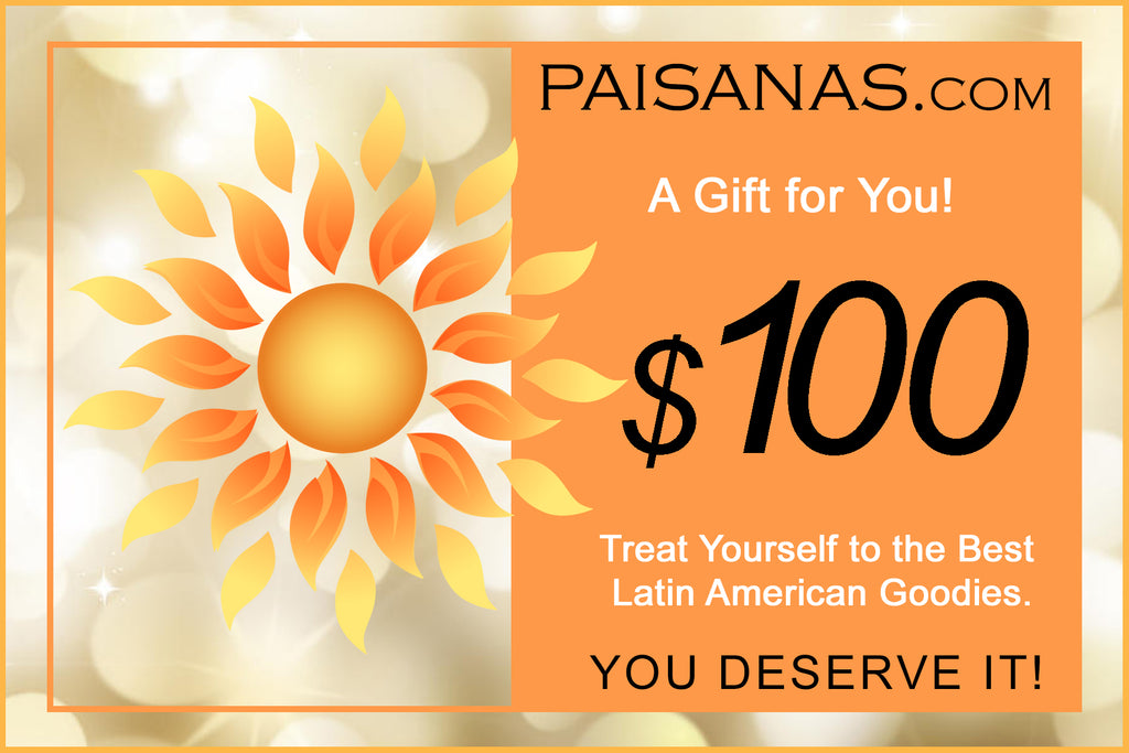 PAISANAS eGift Card