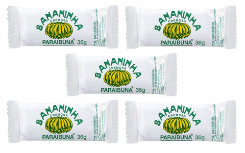 5 PACK -  PARAIBUNA BANANINHA - Candies