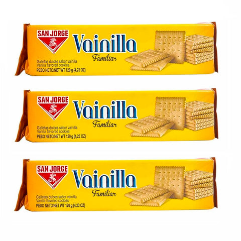 3 PACK - SAN JORGE - Cookies & Crackers