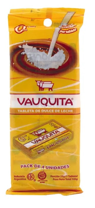 VAUQUITA - Milk Caramel Tablet