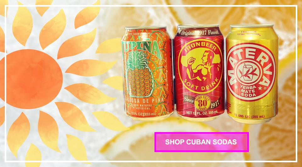 Cuban Sodas-Latin American Products