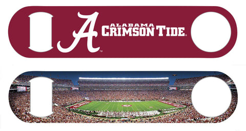 Alabama Crimson Tide Panorama Bottle Opener