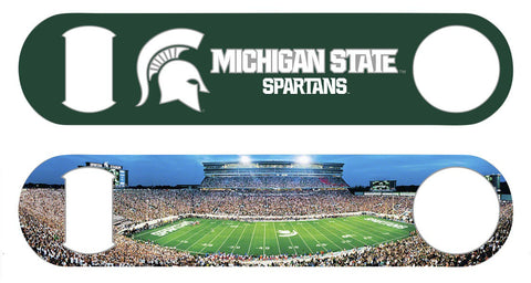 Michigan State Panorama Bottle Opener