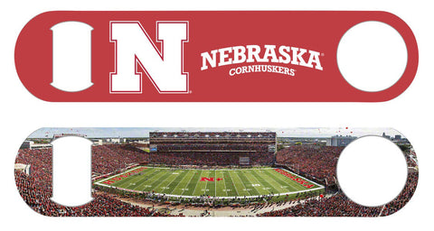 Nebraska Panorama Bottle Opener