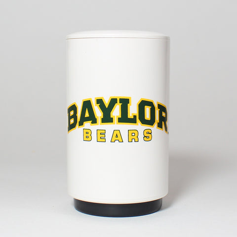 The easy-to-use, automatic Baylor Bottle Popper effortlessly pops off and captures the cap of your favorite beer or bottled beverage in one swift, push-down motion - and as a fully portable device, its perfect for tailgates, barbecues, home bars and more.