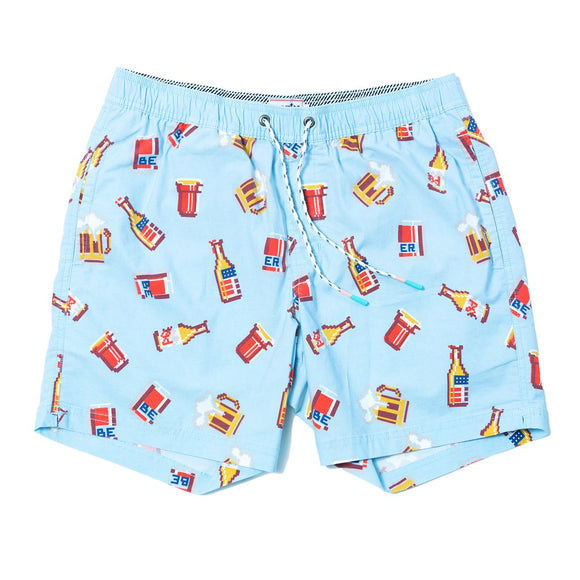 Beer Me Swim Shorts