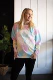 SD Farmscape Sweater - Rainbow Tie-Dye