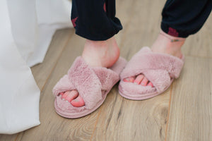 Candi Faux Fur Slippers