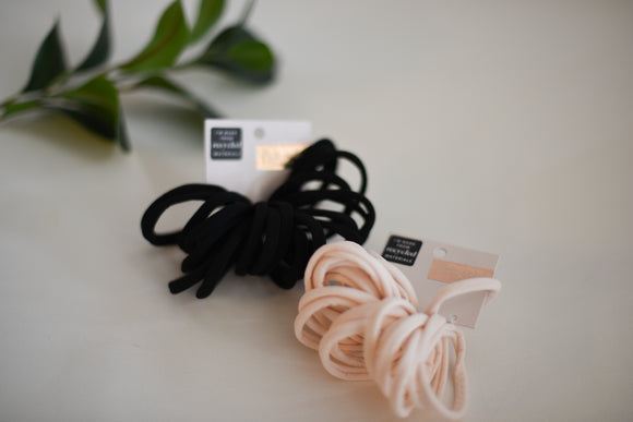 Eco-Friendly Nylon Hair Ties 20pc
