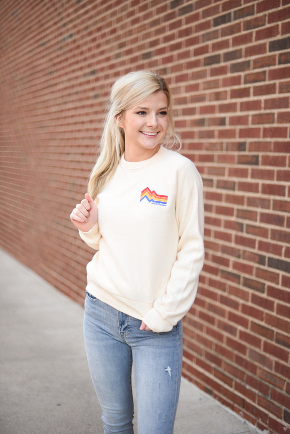 SD Mountains Sweater - Ivory
