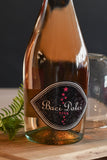 Wine Baci Dolce Pink Rose Bottle