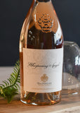 Wine Whispering Angel Rose Bottle