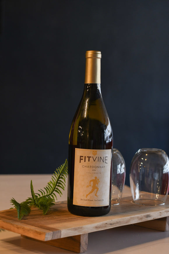 Wine FitVine Chardonnay Bottle