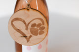 Driftless Wood Wine Ornaments