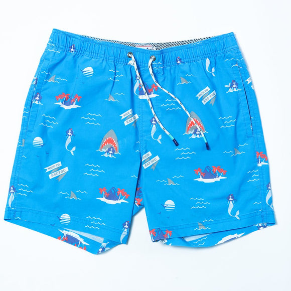 Nice To Eat You Swim Shorts