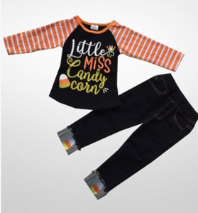 Little Miss Candy Corn Set