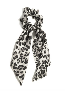 Leopard Big Bow Scrunchie