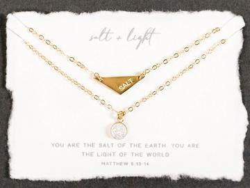 Salt + Light Necklace