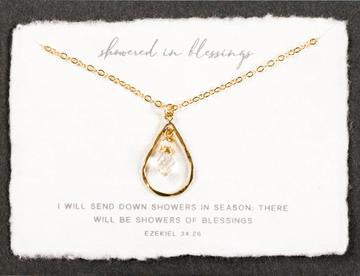 Showered in Blessings Necklace